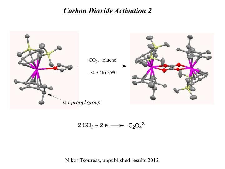 Carbon Dioxide Activation 2