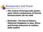 bureaucracy and power45