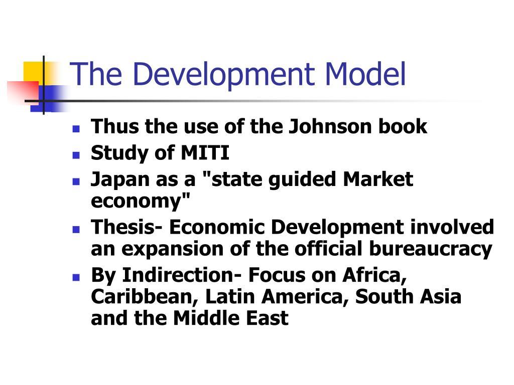 The Development Model