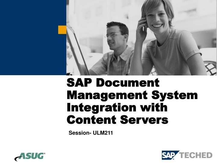 sap document management system integration with content servers n.