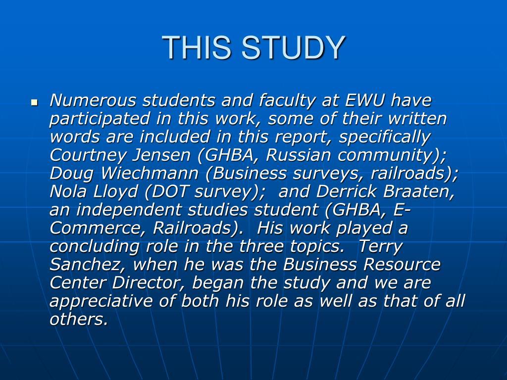 THIS STUDY