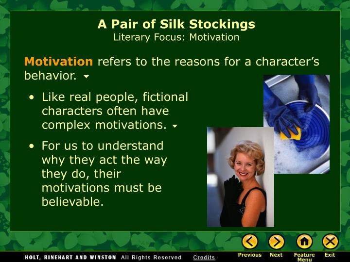 "a pair of silk stockings quotes Accurate information on kate chopin: biography ""a pair of silk stockings quotes from kate chopin."