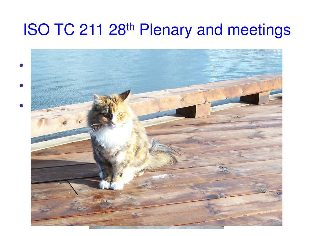 ISO TC 211 28
