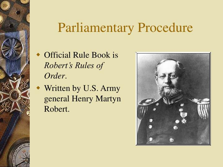 Parliamentary procedure3