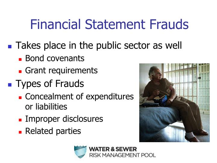 Financial Statement Frauds
