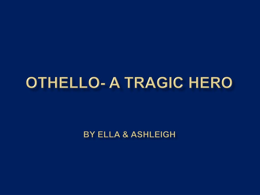iago does not destroy othello othello destroys himself