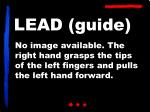 lead guide
