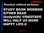 study book mormon either read bodyshift videotape will help us more happy life 0