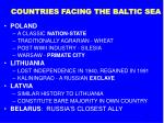countries facing the baltic sea