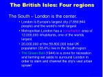 the british isles four regions