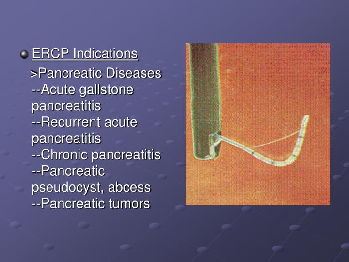 ERCP Indications