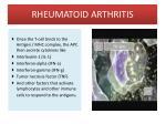 rheumatoid arthritis13