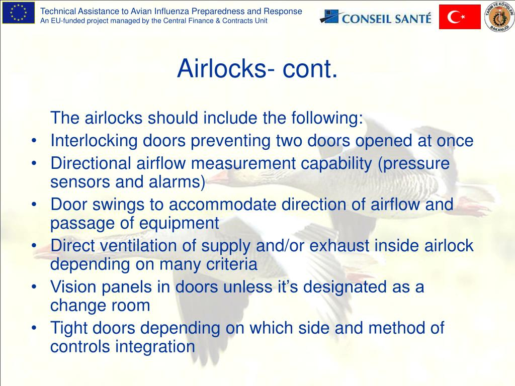 Airlocks- cont.