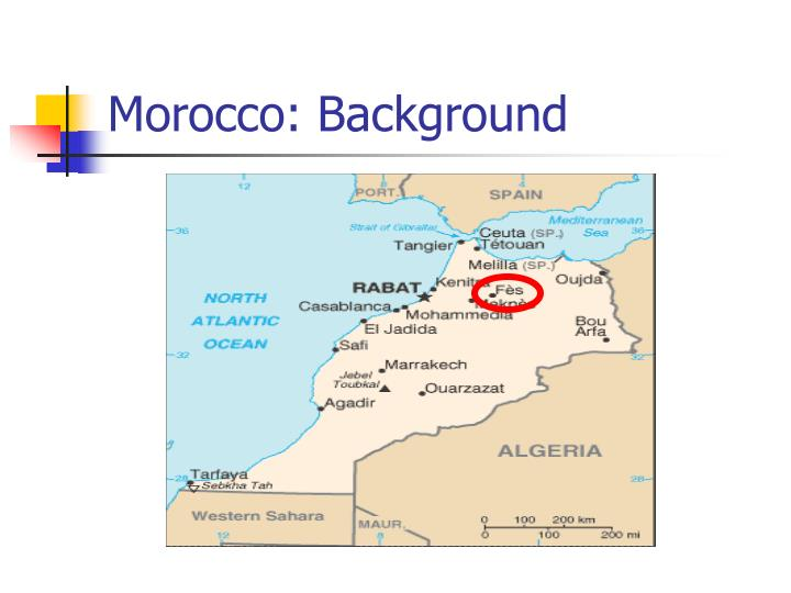 Morocco background
