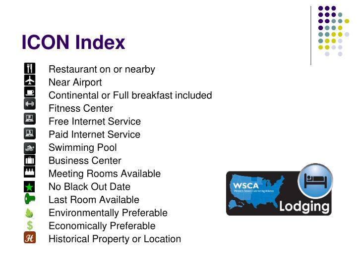 ICON Index