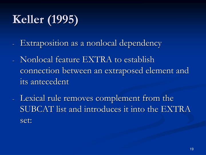 Keller (1995)