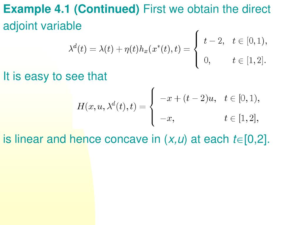 Example 4.1 (Continued)