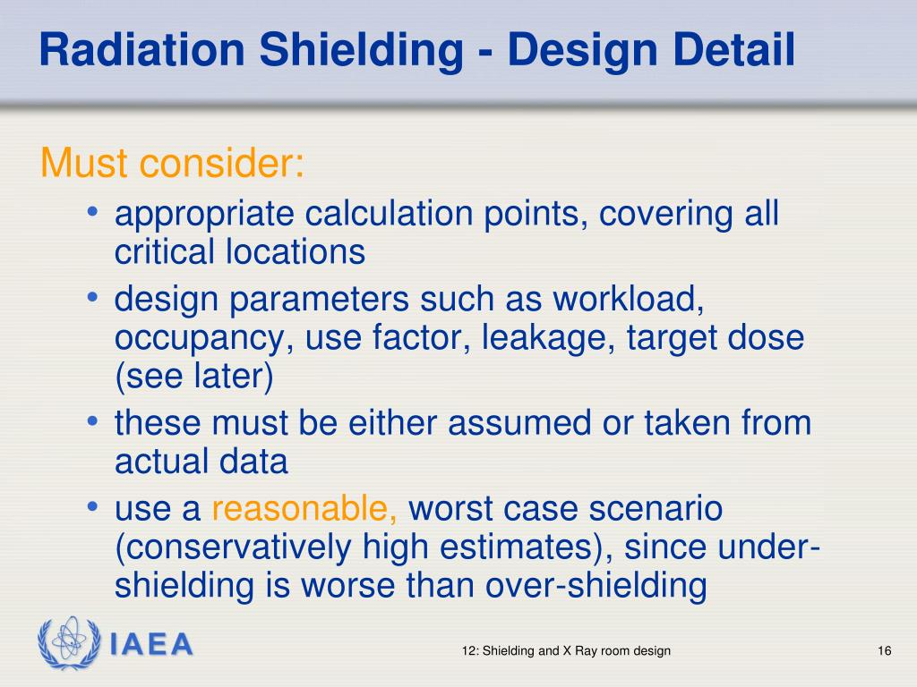 Radiation Shielding - Design Detail