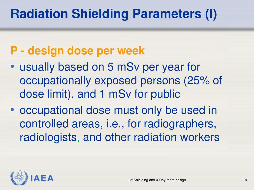 Radiation Shielding Parameters (I)