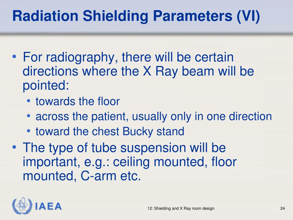 Radiation Shielding Parameters (VI)