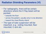 radiation shielding parameters vi
