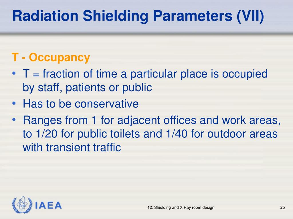Radiation Shielding Parameters (VII)