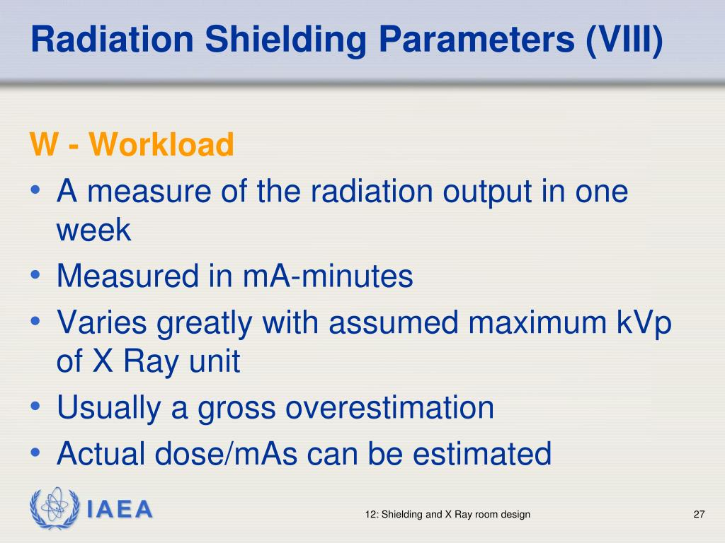 Radiation Shielding Parameters (VIII)