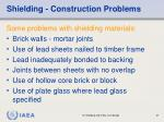 shielding construction problems