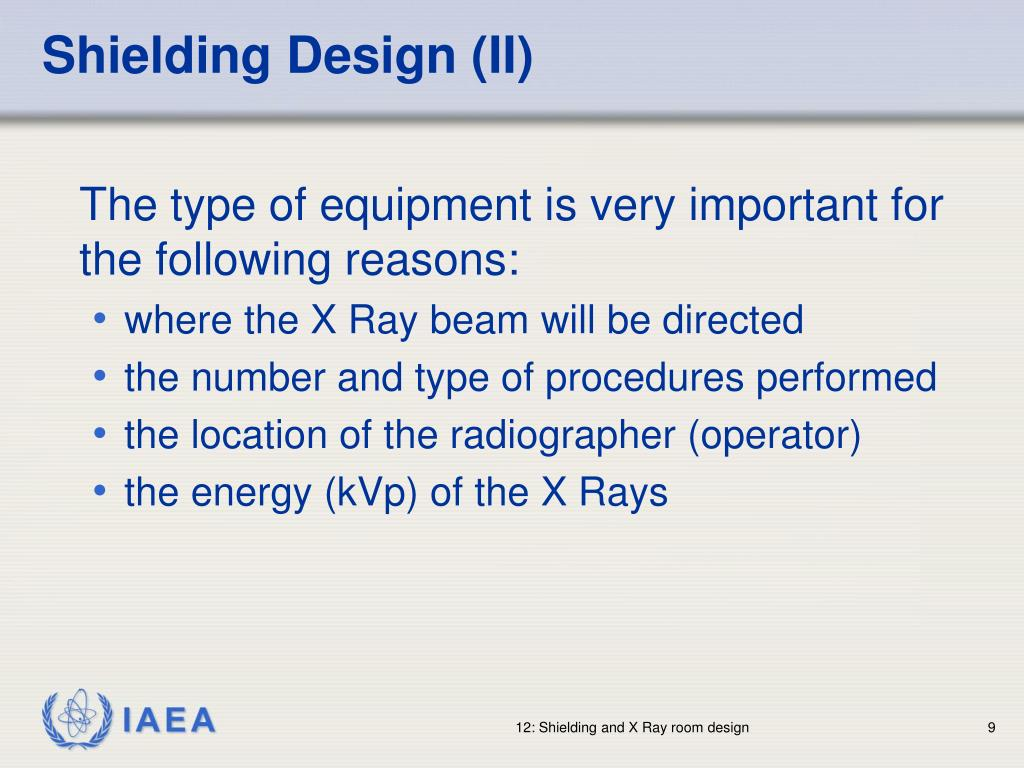 Shielding Design (II)