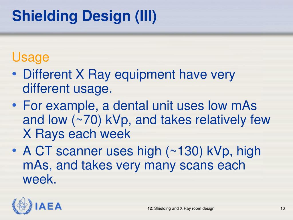Shielding Design (III)