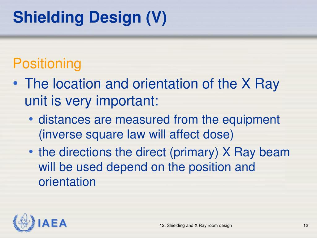 Shielding Design (V)