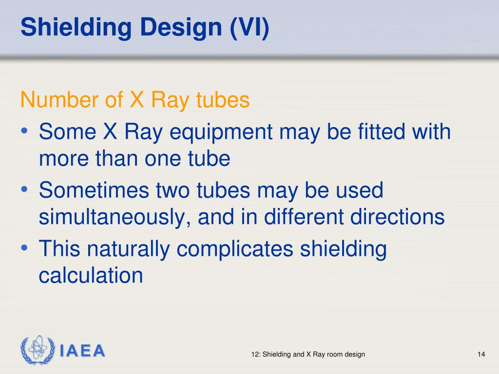 Shielding Design (VI)