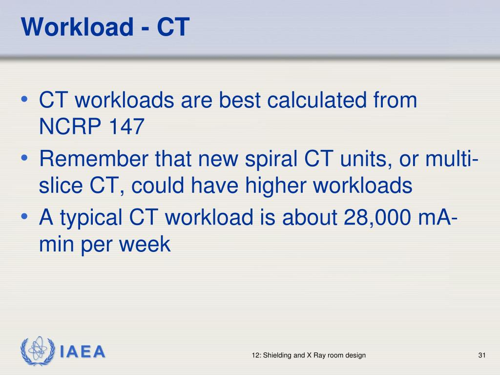 Workload - CT