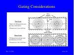 gating considerations64