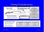 gating considerations65