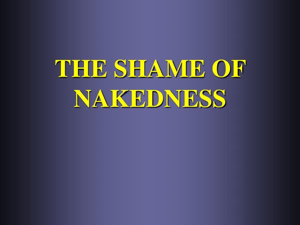 the shame of nakedness l.