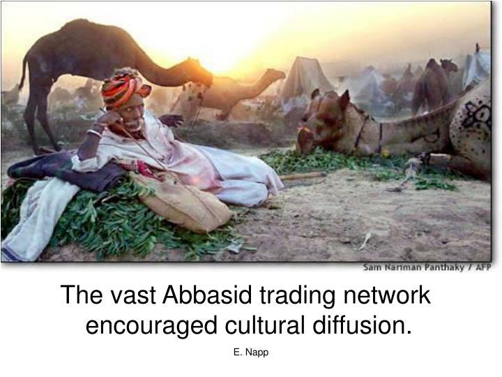 The vast Abbasid trading network