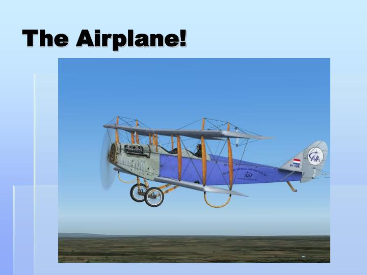 The Airplane!