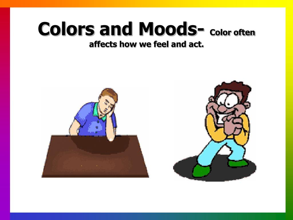 Colors and Moods-