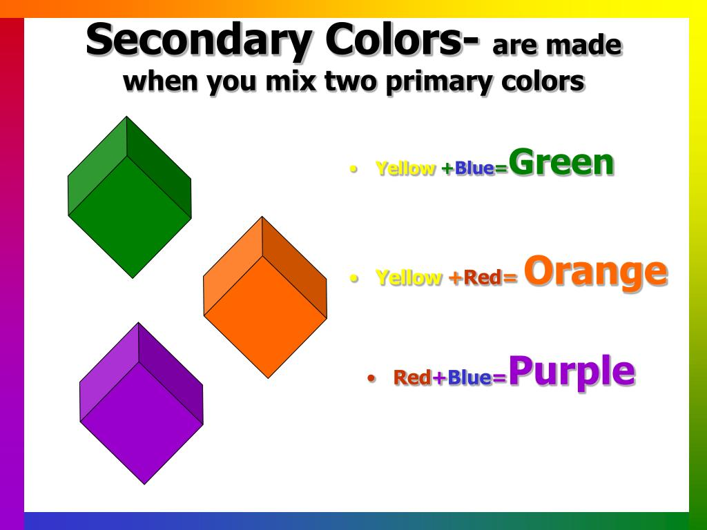 Secondary Colors-