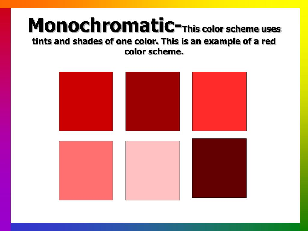 Monochromatic-