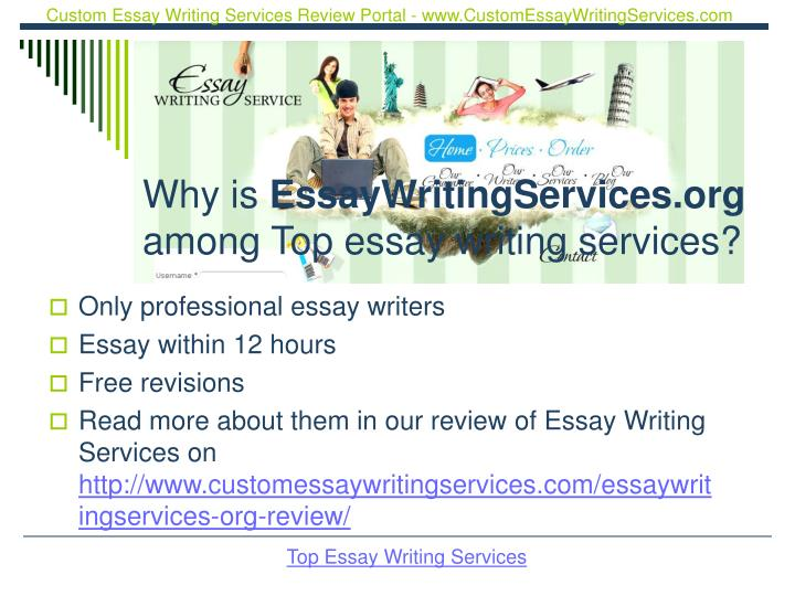 Why is essaywritingservices org among top essay writing services