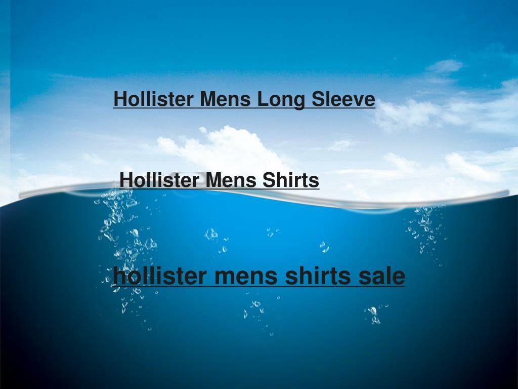 hollister mens shirts sale l.