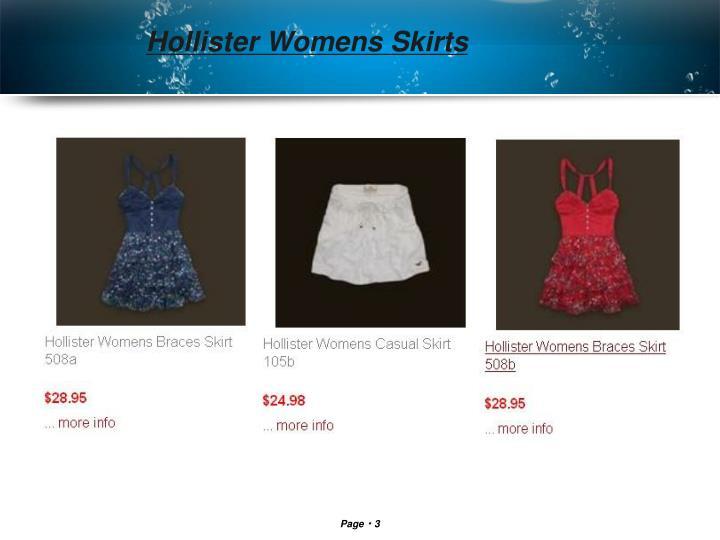 Hollister Womens Skirts