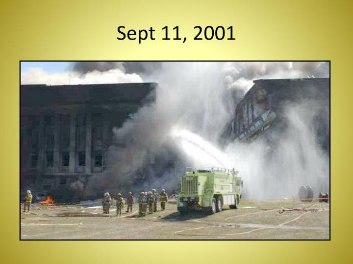 Sept 11 2001