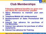 club memberships2