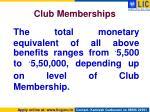 club memberships4