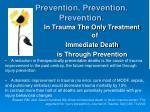 prevention prevention prevention