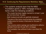 10 9 continuing the requirements workflow msg