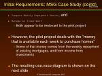 initial requirements msg case study contd1